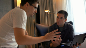 Citizenfour- Snowden and Greenwald